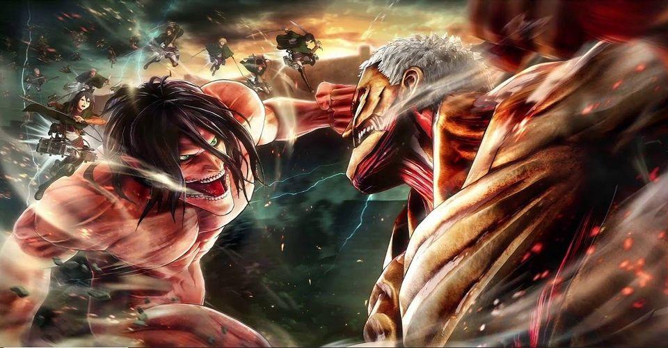 Атака титанов- почему Атакующий Титан тайно самый мощный из девяти