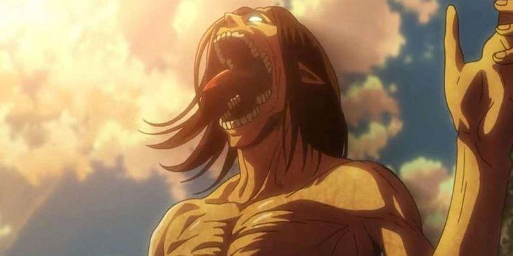 эрен в облике титана